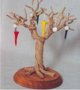 Set of 12 Golf Ornaments