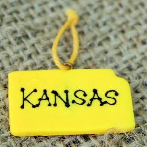 Set of 12 Kansas Ornaments