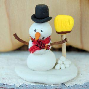 January: Snowman