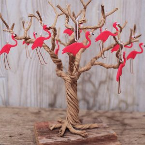 Set of 12 Pink Flamingos